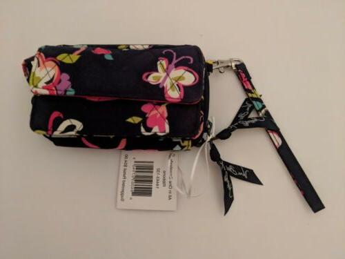 ribbons crossbody bag wallet all in one