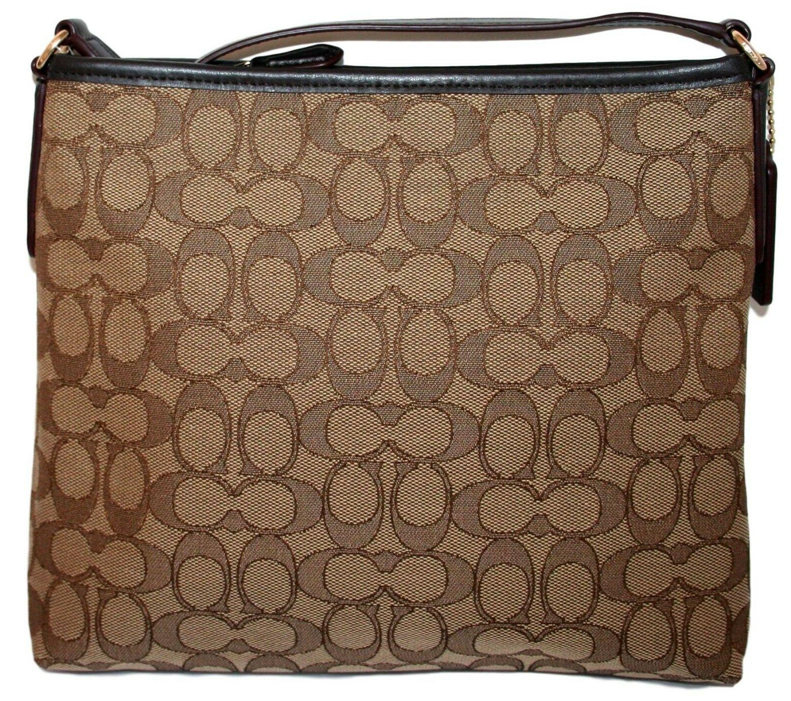 Coach Signature Jacquard Bag F29960