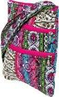 Silver Lilly Women's Quilted Hipster Adjustable Crossbody Ba