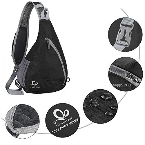 WATERFLY Bags Crossbody Packs Walking