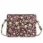 Small Crossbody Bags Floral Pattern Canvas Cell Phone Wallet