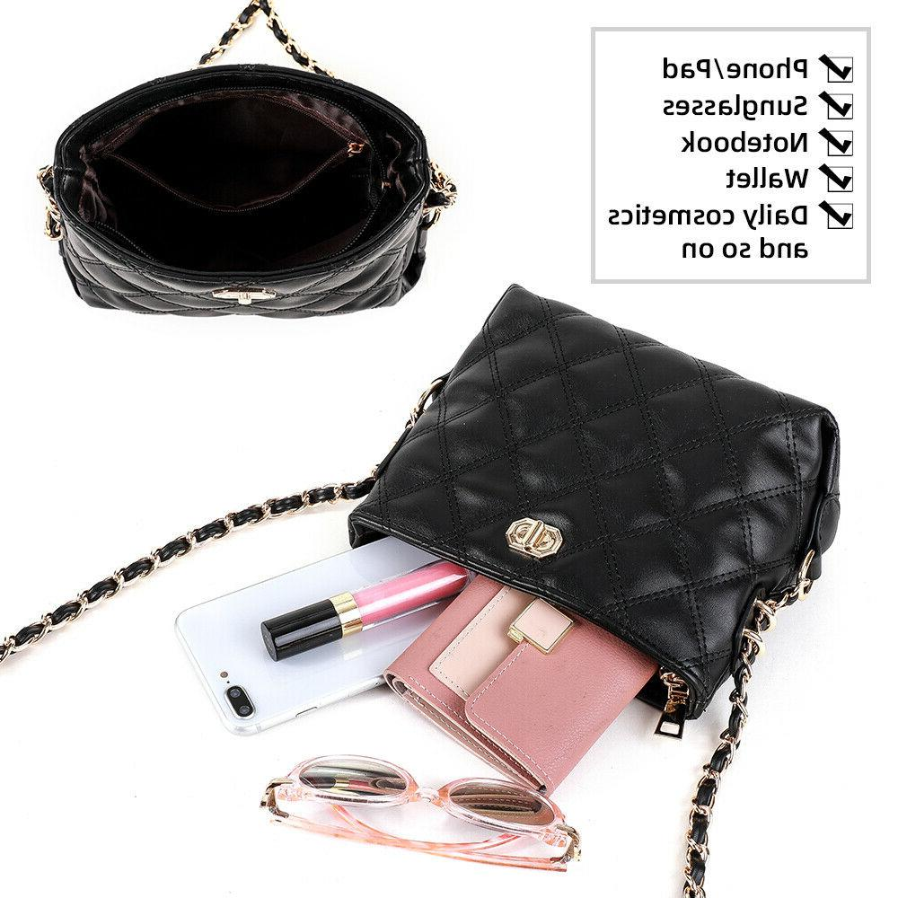 Small for Purses Fashion PU Leather Shoulder US