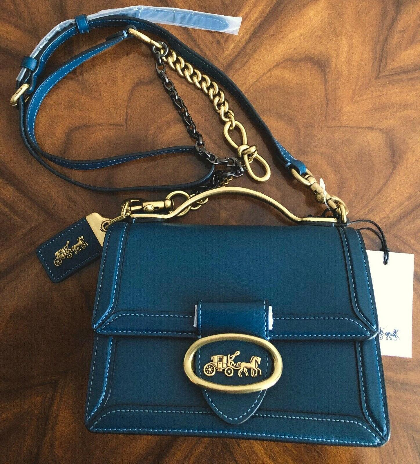 sold out nwt 1941 peacock leather riley
