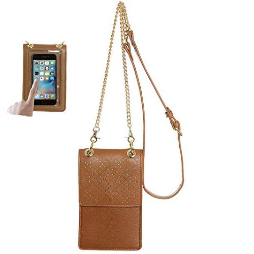 touch screen design cell phone purse wallet
