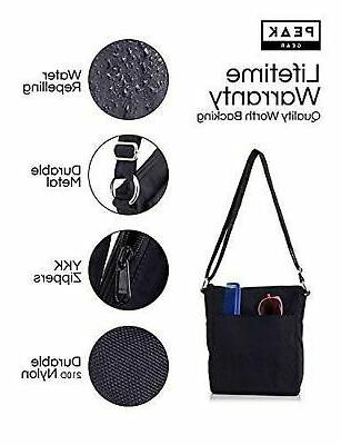 e7f48828a Travel Crossbody Hidden RFID Pocket - Includes Found ID. Travel Hidden  Includes Lifetime Lost Found