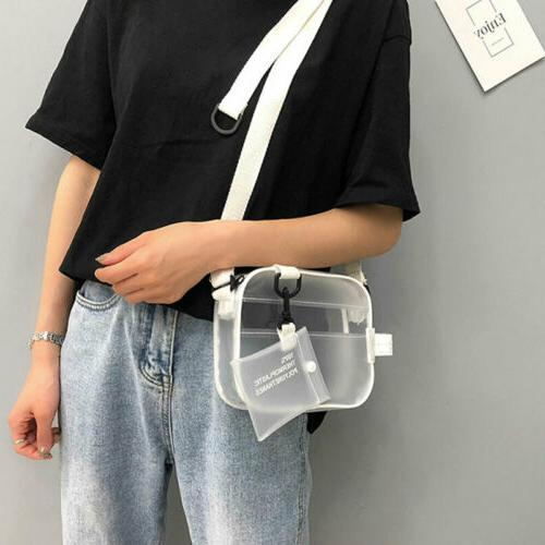 US Women Bag PVC Chain Bags