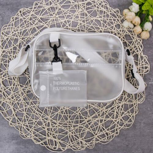 us women transparent bag pvc jelly clear