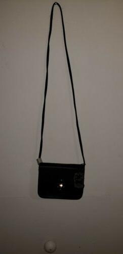 Alyssa Vegan Crossbody small Bag Women  Faux Leather NWT 7×