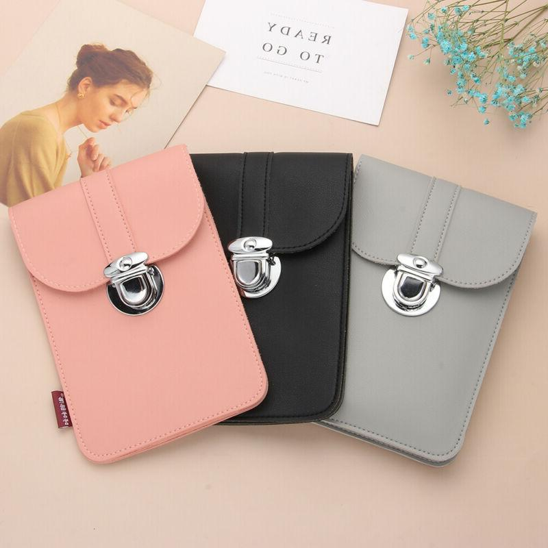 5 MIni Retro Buckle Leather Touch Screen Bag