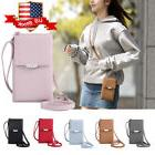 Women Cell Phone Wallet Pocket Purse Shoulder Bags Pouch Cas
