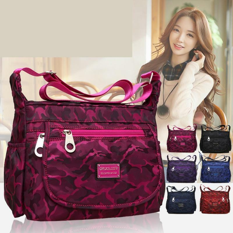 Waterproof Single-shoulder Messenger Crossbody Bag Nylon Pur