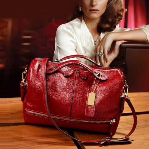 women leather handbag shoulder purse pilliow shape