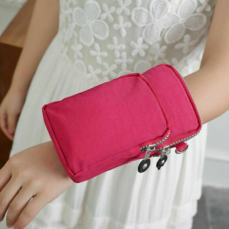 Women Small Cell Phone Pouch Purse Wallet
