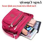women waterproof canvas messenger cross body handbag