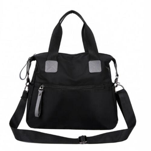 Women Waterproof Nylon Shoulder Bags Capacity Crossbody
