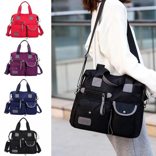 women waterproof messenger bag nylon shoulder bags