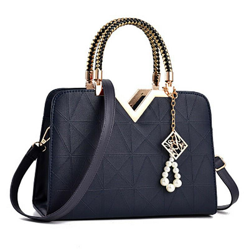 Womens Leather Shell Bag Tote