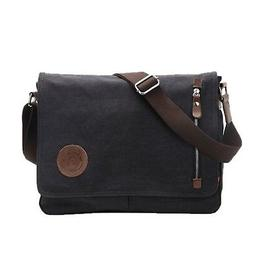 Life Boost Vintage Canvas Satchel Messenger Laptop Shoulder