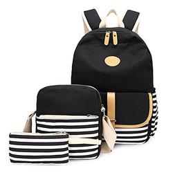 Lightweight Canvas Backpack Fashion School Bag Outdoor Trave