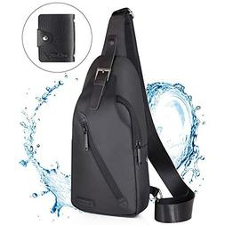 LST Sling Bag Waterproof Crossbody Chest Backpack Outdoor Cy