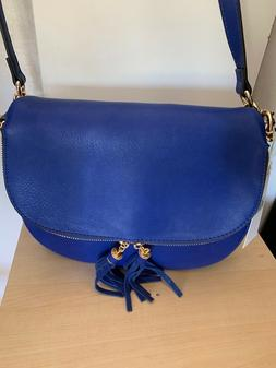 Isabelle medium Crossbody / shoulder blue bag Stunning piece