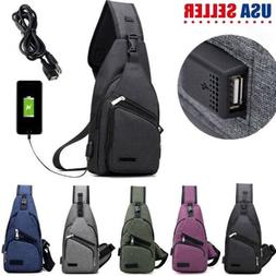 Travel Backpack Bag Protective Carrying Case w/ USB Charging