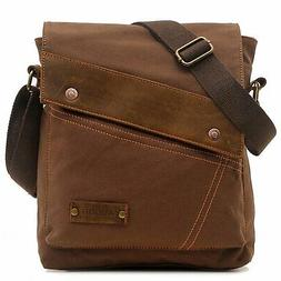 Aibag Messenger Bag Vintage Small Canvas Shoulder Crossbody