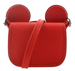 COACH MICKEY Patricia Saddle in Glove Calf Leather with Mick