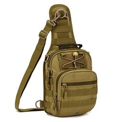 X-Freedom Military Tactical Sling Daypack Chest Travel Shoul