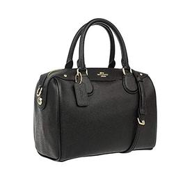 COACH MINI BENNETT SATCHEL IN CROSSGRAIN LEATHER