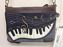 Chala Mini Crossbody Bag Small Convertible Purse Piano Music