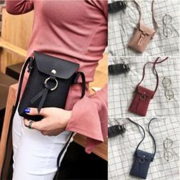 mini leather coin crossbody bag small shoulder