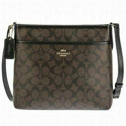 Coach F57555 mini Sierra Leather Satchel Shoulder Handbag Pu