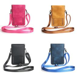 multi pocket women crossbody bag cell phone
