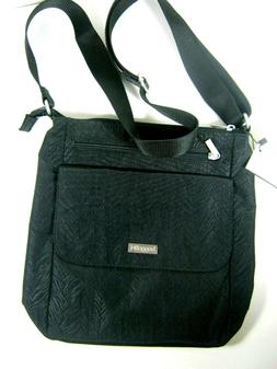 New Baggallini Town Bagg Lightweight Nylon Crossbody Travel