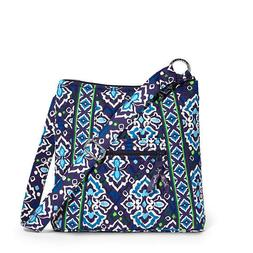 NEW Vera Bradley Large Hipster In INK BLUE Crossbody Shoulde