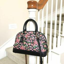 New Coach Mini Sierra Posey Cluster Floral Print Crossbody B
