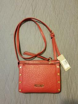 New Red Crossbody Shoulder Bag 3 Sections Kenneth Cole React