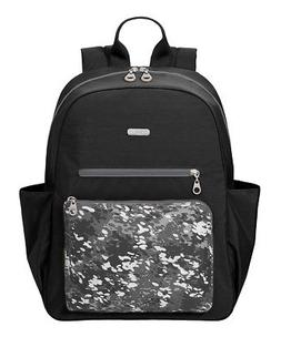 NEW BAGGALLINI WOMEN'S CARGO BACKPACK WITH LAPTOP POCKET BLA