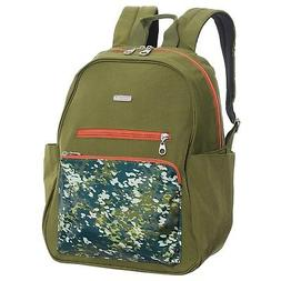 NEW BAGGALLINI WOMEN'S CARGO BACKPACK WITH LAPTOP POCKET GRE