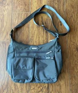 NWOT Baggallini Everywhere Shoulder Crossbody Bag Gray With