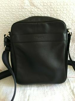 NWOT Coach Men's Flight Crossbody Bag Smooth Calf Leather F5