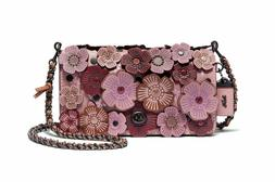 NWT Coach 1941 Dinky With Tea Rose in Dusty Rose Crossbody L