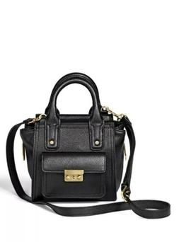 NWT 3.1 Phillip Lim Mini Satchel CROSSBODY BAG BLACK 20 Year