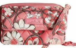 NWT_VERA BRADLEY _All in One iPhone 6+ Cross Body_Blush Pink