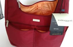 nwt cargo hobo tote bag red