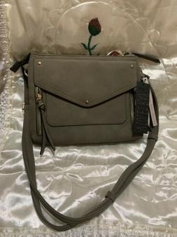 NWT Violet Ray Crossbody Bag, Olive With Gold Accessories