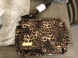NWT JUJUBE BETTER BE THE QUEEN OF JUNGLE DIAPER BAG CHEETAH