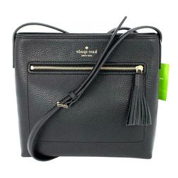 NWT Kate Spade Chester Street Dessi Black Leather Crossbody