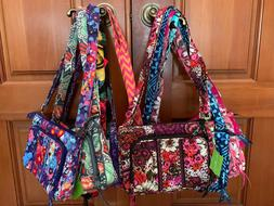 Vera Bradley LITTLE HIPSTER  crossbody mini shoulder bag wal